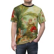 French Rococo Unisex T-shirt Tee Victorian Baroque Couture Fine Art Nouveau Goth