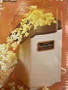 New Old Stock Vintage Presto Continuous Hot Air Popcorn Now Maker Auto Butter