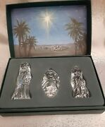 Marquis By Waterford The Nativity Collection The Holy Family Figurines