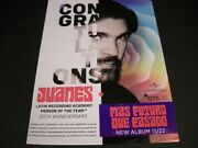 Juanes Latin Recording Academy Person Of The Year 2019 Promo Poster Ad