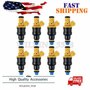 For Gt 5.0 4.6 1986-2002 Ford Mustang 19lb Injectors 4-hole Spray Pattern Bosch