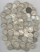 Lot Of 200 - No Date Buffalo Nickels + Dates Are Worn Off