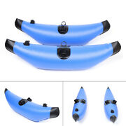 2pcs Pvc Durable Kayak Canoe Inflatable Standing Outrigger Stabilizer Floats Usa
