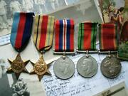 Ww2 Africa 1939-45 Star South African Cape And Pioneer Indian And Malay Corps Medal
