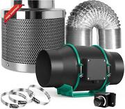 Mars Hydro 6 Inline Fan Carbon Filter Combo Kits- 6 Inline Fan With Speed Cont