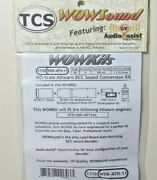 Tcs Wow Kit 1778 Wdk-ath-11 Complete Sound Conversion Fit Athearn Rtr Emd Mp15ac