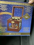 Mr Christmas Animated Symphony Of Bells Brass Bells Carousel Music Box 50 Songs