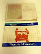 Owners Manual Nissan 300zx 84 And Two Service Manuals Free Shipping