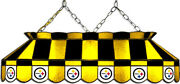 Nfl Pittsburgh Steelers Stained Glass Pool/billiard Table Light - New