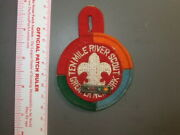 Boy Scout Ten Mile River Felt Patch With Pin Ny 9834x