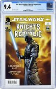 Star Wars Knights Of The Old Republic 9 Newstand Variant Cgc 9.4