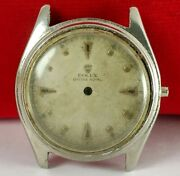1950's Vintage Rolex Oyster Royal 6044 Dial And Case Parts Damage Condition