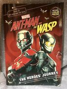 Marvel Ant-man And The Wasp The Heroes Journey Used - Poster Is Pristine Read