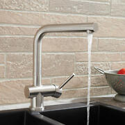 Signature Hardware 433135 Bennett 1.8 Gpm 1 Hole Kitchen Faucet - Stainless