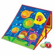 Learning Resources Smart Toss Game 4 Different Bag Tossing Games Cornhole Gam...