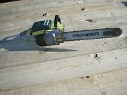 Pioneer P25 Chainsaw With 16 Bar And Chain / For Parts Or Repair /