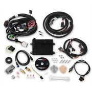 Holley 550-606n Hp Efi Ecu And Harness Kit Ford V8 Mpfi Ntk O2