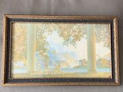 Vintage Maxfield Parrish Print Titled Daybreak - Reinthal And Newman Ny Circa 1930