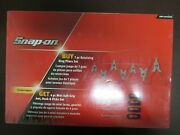 Snap On 11 Piece 7-retaining Ring Pliers And 4-mini Hook Set, New