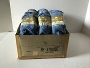 Lot Of 25 Vtg Yarn Skeins Nylon Hearthside Sears Roebuck And Co. Color Alice Blue