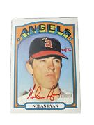 2021 Topps Heritage Nolan Ryan Real One Autograph Red Ink Auto 42/72 Angels 1972