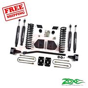 Zone Offroad 4 Lift Kit For Ford F250/f350 2008-2010 4wd Gas Nitro Shocks