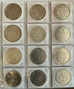 Huge Collection Coins Of Portugal All Are Commemorative Escudo And Euro Periods
