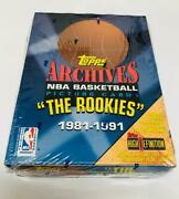 1993 Topps Archives The Rookies 1981-1991 Basketball Box