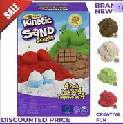 Kinetic Sand Scents 2 Lb 4-pack Of Cherry Apple Chocolate Vanilla Scented Sands