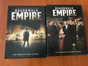 2 Dvds Boardwalk Empire The Complete First 1 And Second Season 2 Near Mint