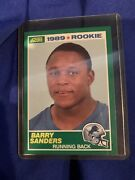 Double Pack Of Extremely Rare Barry Sanders Rookie Card Worth Over 2000
