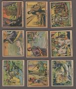 1934 Canadian Chewing Gum Tarzan And The Crystal Vault Of Isis Near Set Of 39/50