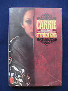 Carrie By Stephen King - 1st Ed In Jacket Pete Fountainand039s Copy Signed By Him