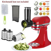 Slicer Shredder Attachment For Kitchen Aid Stand Mixer Cheese Fruit Home Kit Set