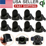 Wireless Charging Dock Cradle Charger For Samsung Gear S2/3 Frontier/classic Lot