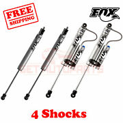 Fox Shocks Fr 4-5 And R 4.5-5.5 Lift For Ford F450 Cab Chassis/utility 2005-07