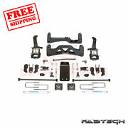 Fabtech 6 Basic Syst W/ Front Coilover And Rear Shocks For Ford F150 4wd 09-13