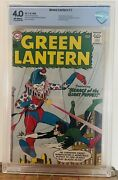 Green Lantern 1 1960 Cbcs 4.0 Key 1st Issue 1st Guardians Of The Universe Cgc