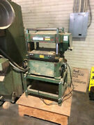 Central Machinery Model 598 16 X 8 Automatic Planer In Good Condition Used