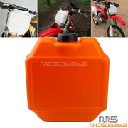 1.3 Gallon Front Fork Auxiliary Fuel Tank For Mx Sx Xc 250 300 350 450 Dirt Bike