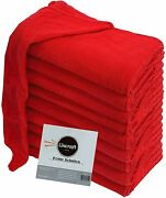 Lincraft Shop Towels / Cleaning Towels 12 X 14 100 Cotton For Multi-purposes