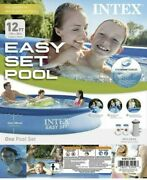 Intex 12' X 30 Easy Set Pool With Filter Pump Brand New