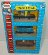 New 2006 Thomas And Friends Track Master Railway Trucks And Track Sodor Power Plant
