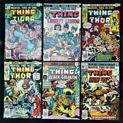Marvel Two-in-one Lot 19-20, 22-28, 31-32