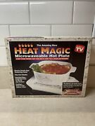 Microwaveable Hot Plate Heat Magic As Seen On Tv New Open Box Free Shipping
