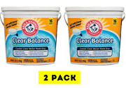 🔥 2 Pack Of 16 Arm And Hammer Clear Balance Swimming Pool Maintenance Tablets