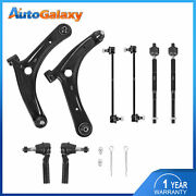 Control Arm W/ Ball Joints Sway Bar Tie Rod Ends For Dodge Caliber Jeep Compass
