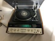 Vintage Kenwood Ks-707 Solid State Am/fm Stereo Tuner Amplifier With Turntable