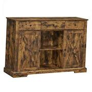 Sideboard Buffet Cabinet Freestanding Kitchen Storage Cupboard For Dining