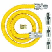 Dormont Safety-shield Gas Appliance Connector Kit 0240892 30c-3131kit-48b - 5...